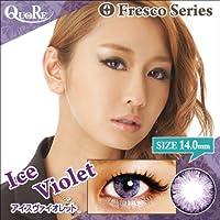カラコン 度なし 1箱2枚入り QuoRe Fresco Series/ソブレ/119227 14.0mm【IceViolet--0.00】