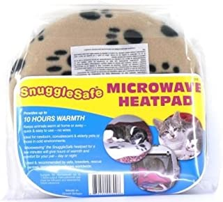 Snugglesafe Microwave Heat Pad | Microwaveable Heating Pad Lenric (2 Pack) | Microwavable Pet Warmer Pad, Animal Heating Pads