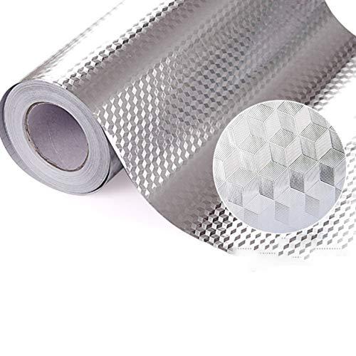 Armoire de ShenyKan Feuille d'aluminium étanche à l'humidité Autocollants imperméables à l'huile de cuisine Feuille d'aluminium à haute température