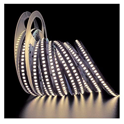 Tesfish Tiras de luz LED 24V, Blanco Natural 4000K 5M Tiras LED 2835 IP20 240 LEDs/M 1200 LEDs en Total Súper Brillante Tiras de Luces LED para Dormitorio,...