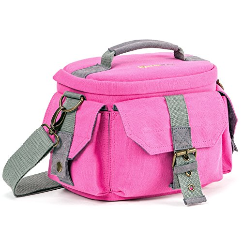 Evecase 885157969680 Messenger case Pink - camera cases (Messenger case, Universal, Pink, Scratch resistant, Shock resistant)