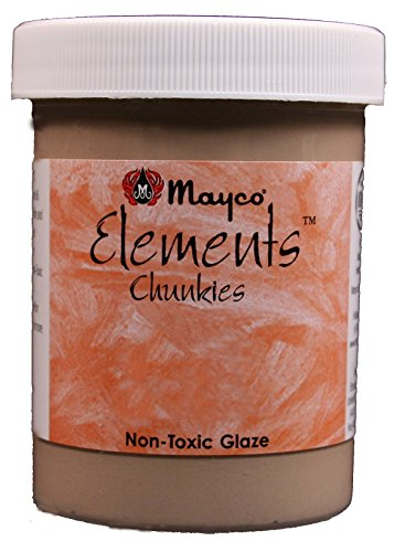 Mayco Elements Chunkies Glaze - EL207 - Gold Mine - 4 Ounce Jar