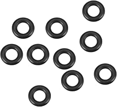 Fluorkautschuk O-Ring Dichtungsring schwarz 6 mm x 13 mm x 3,5 mm sourcing map 25Stk