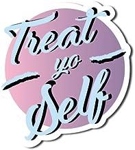 Sticker Collective Treat Yo Self Treat Yo Self Funny Parks and Recreation TV