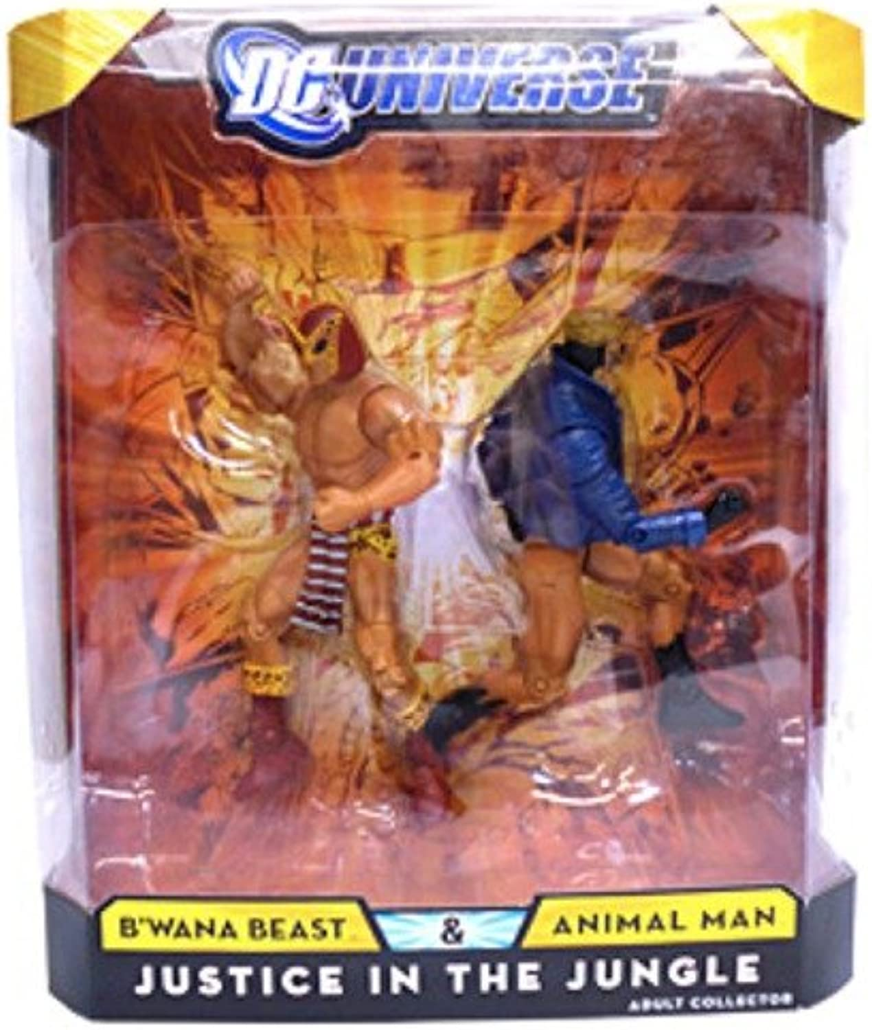 Dc Comics Dc Universe Classics Justice In The Jungle Action Figure 2pack Bwana Beast & Animal Man