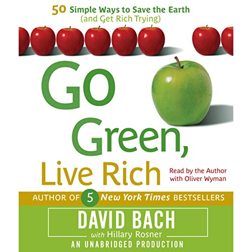 Go Green, Live Rich audiobook cover art