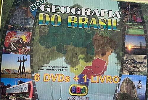 Nova Geografia do Brasil 6 DVDS + 1 Livro