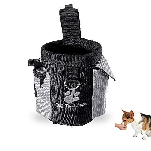 Hond traktatie taille Pouch tas handsfree huisdier training voedsel opbergtas met ingebouwde poep tas dispenser (zak)