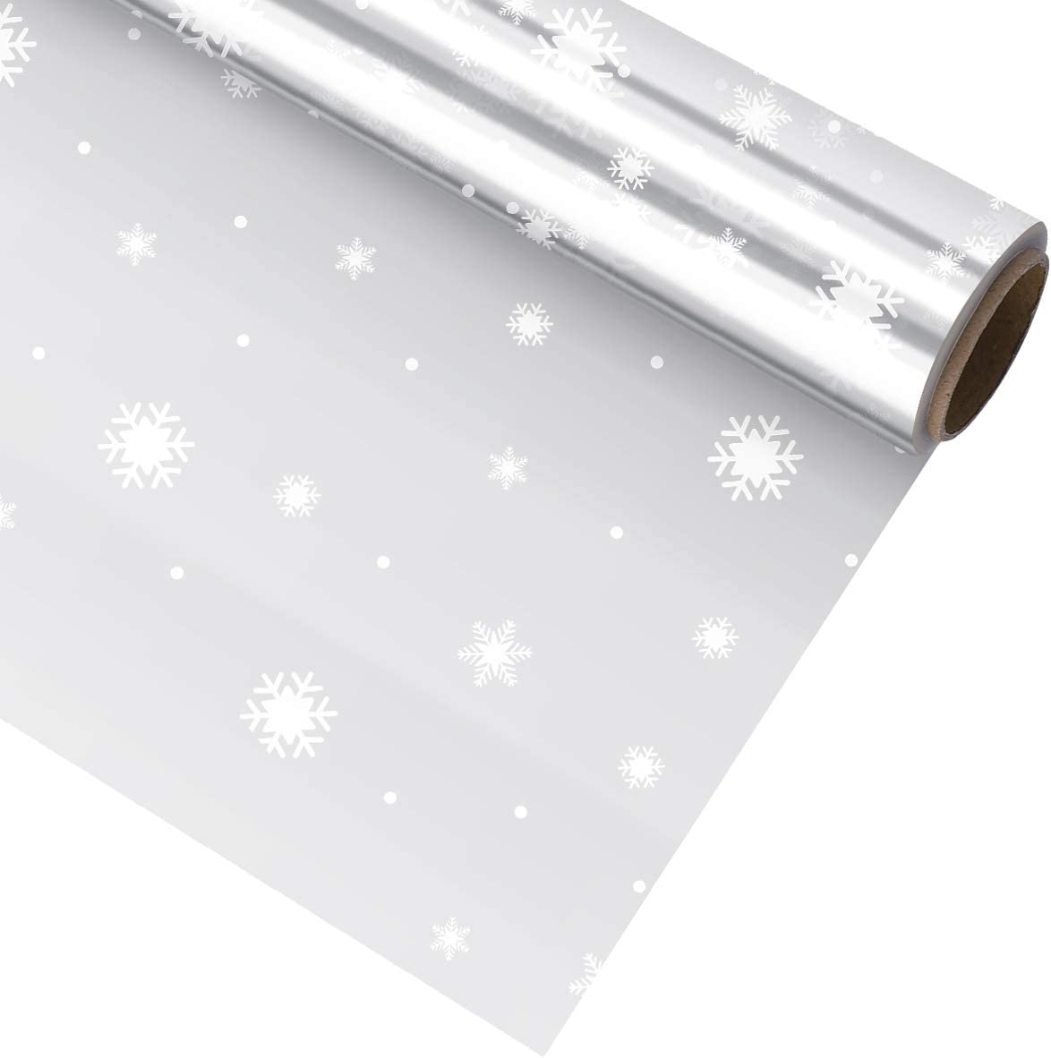 NUOBESTY Christmas Clear Cellophane Wrap Ranking TOP8 3 Excellence Roll Mil Thickness Ce