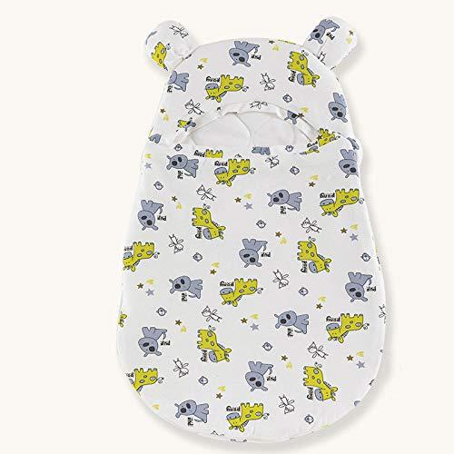 NIGHT WALL Unisex Baby-Wickeldecken,Anti-Betäubungsschlafsack,Babyholding-Baumwolldecke,Warmer Schlafsack des neugeborenen Babys-Xiao Yan,neugeborener Säuglingsdicker Warmer Schlafsack
