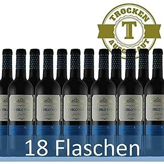 Rotwein-Spanien-Rioja-Pueblo-Viejo-Tempranillo-halbtrocken-18-x-075l