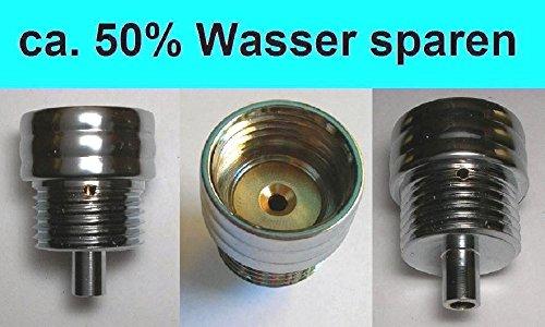 Design Wassersparer für Handbrause / Kopfbrause / Armatur / DuschAirator - 2