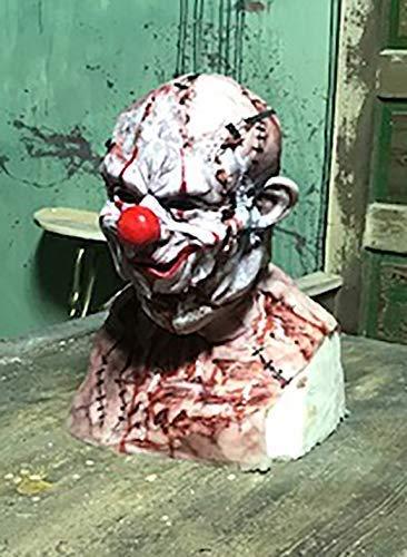 Mythic Airbrush Maschera di potere professionale maglia del silicone realistico Con strappare viso Zombie Clown Taglia unica Fleshtones