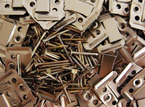 Paneelhalterung Paneel-Klammern für Paneele 1mm 100Stk