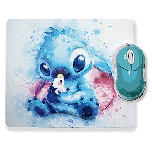 Tapis de souris Aquarelle Stitch chibi et Kawaii - Chamalow shop