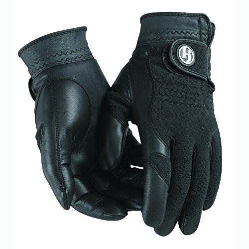 Unique Sports HJ Winter Performance Golf Gloves Pair Ladies Medium Black