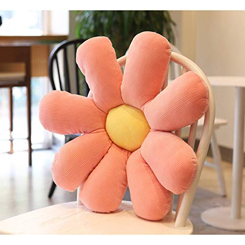 60 cm schattig madeliefje sierkussen cartoon bloem stoel kussen pluche vent speelgoed schattig en mooi speelgoed verjaardagscadeau kussen decoratie auto decoratie
