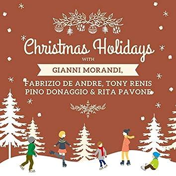 Christmas Holidays with Gianni Morandi, Fabrizio De Andre, Tony Renis, Pino Donaggio & Rita Pavone
