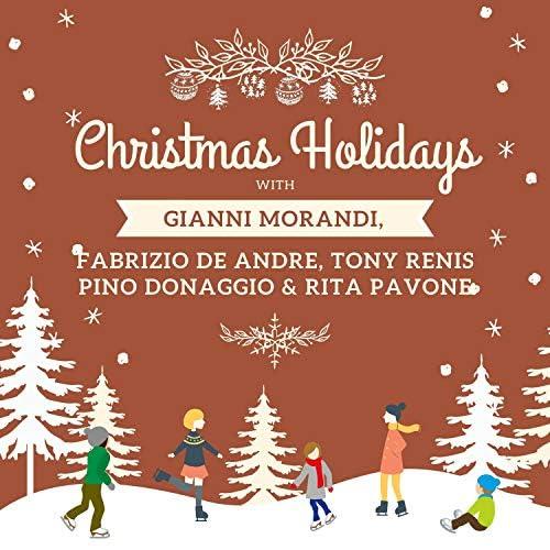 Gianni Morandi, Fabrizio De André, Pino Donaggio & Rita Pavone & Tony Renis