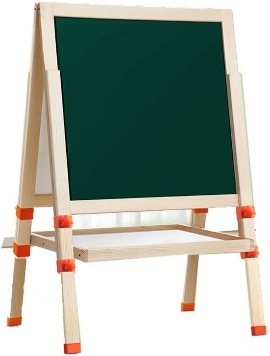Children's Wooden Easel Household Type Small Bracket Blackboard Discount is also underway Safety and trust