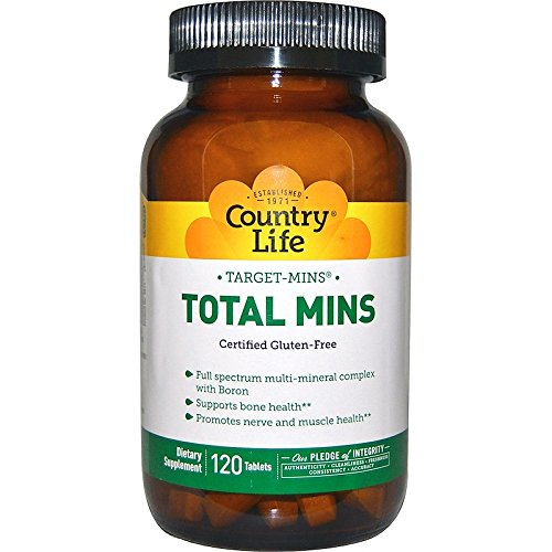 Country Life, Target-Mins, Total Mins, 120 Tabletten