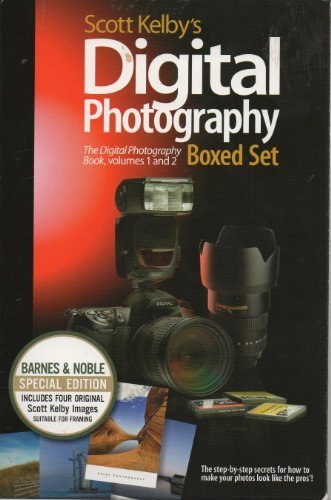 Scott Kelby's Digital Photography Set: The Digital Photography Book, Volumes 1 & 2 by Scott Kelby (2008-05-03)