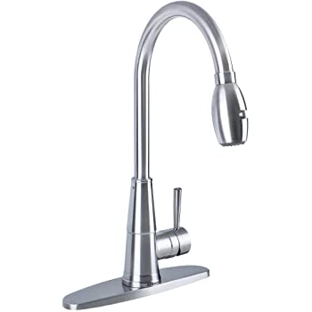 Afa Usa Afkpd03 Pull Down Kitchen Faucet Stainless Steel Amazon Com