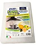 Bib Filtro Cappa Cucina Profumato 40x80 cm, Filtro per Cappe Aspiranti Universale e Ritagliabile Assorbente