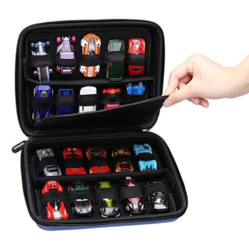 Aproca Duro Viajes Funda Bolso Caso para Hot Wheels Pack de 20 vehiculos Coches de Juguete H7045