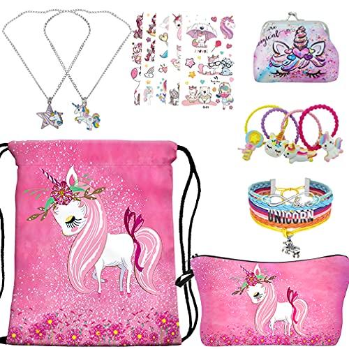 RLGPBON Cadeaux Licorne pour Les Filles Licorne Cordon Sac...