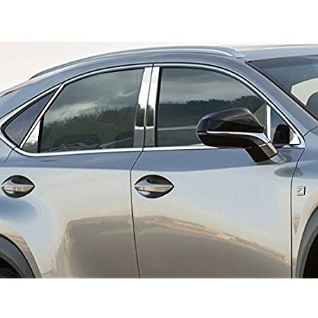 PP58166 QAA FITS Traverse 2018-2019 Chevrolet 6 Pc: Stainless Steel Pillar Post Trim Kit, 4-Door, SUV