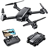 Tomzon D30 GPS Foldable Drones with 4K Camera for adults, 5G WIFI Quadcopter for Beginner with Auto Return Home, Follow Me, Waypoint Flight, Circle Fly, Optical Flow Positioning for Indoor and Outdoor