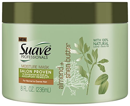 Suave Professionals Moisture Hair Mask, Almond/Shea Butter, 8 Ounce