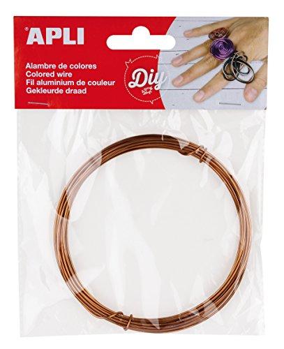 APLI 14100-Alambre cobre 1,5 mm x 5 m
