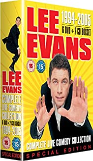 Lee Evans - Complete Live Comedy Collection 1994 - 2005 Special Edition