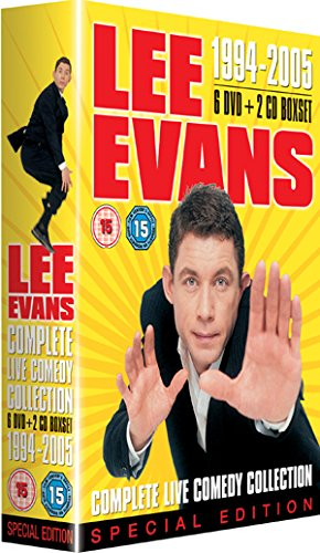Lee Evans - 1994-2005 Complete Live Comedy Collection
