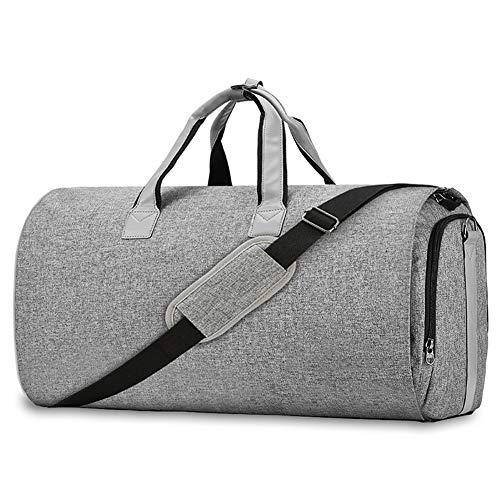 LIYAN Suit Bag Reistas Draagtas Draagtas Hangende koffer Suit Reistassen Waterdichte grote capaciteit Suit Reistas Grijs