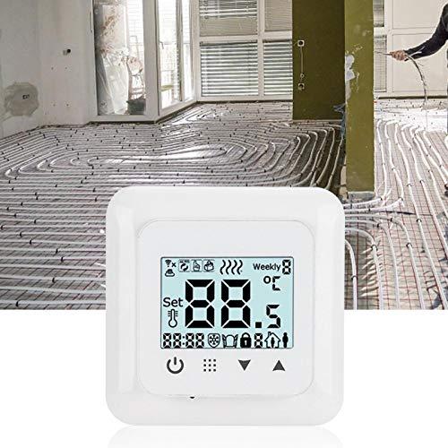 01 Dispositivo de Control de Temperatura, termostato de calefacción, Seguridad para Sistema de calefacción por Suelo Radiante(WiFi)