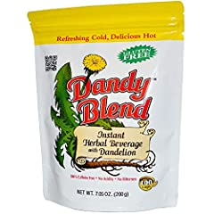 Refreshing Cold, Delicious Hot Gluten Free 100% Caffeine Free No Acidity No Bitterness