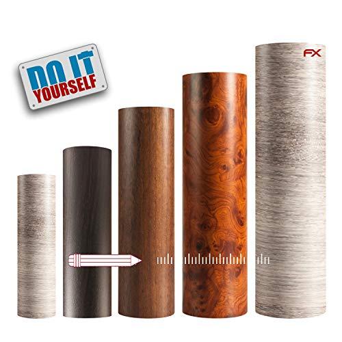 atFoliX Möbelfolie Autofolie Klebefolie FX-Wood Farbauswahl Dekorfolie Breite 137 cm - Länge auf Wunsch auswählen
