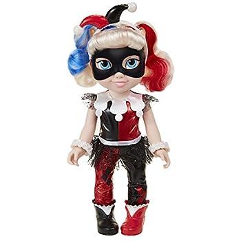 DC Super Hero Girls DC Harley Quinn Toddler Doll 14  Tall Black/Red