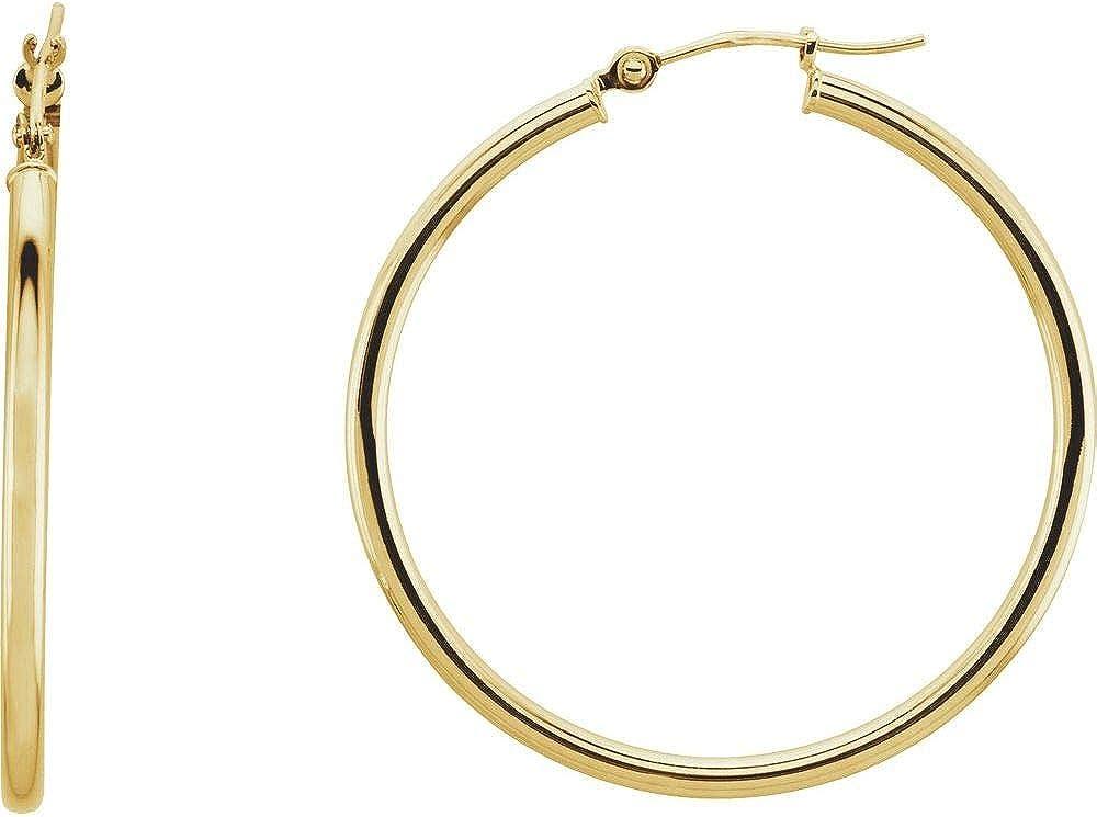 Fancy & Fashion Hoop Earrings