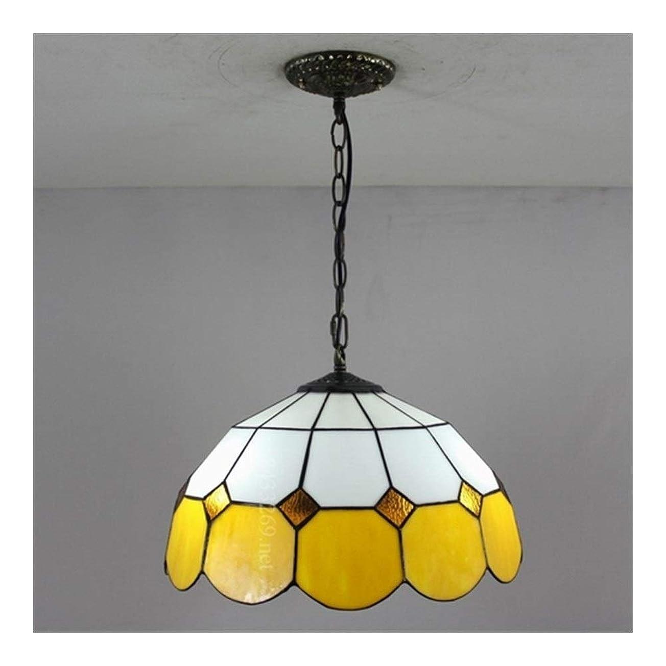 アジャかご以内に16インチのハンドメイドの現代ステンドグラスのシャンデリア、家の装飾のための着色されたガラス設計のティファニーのシャンデリアランプ