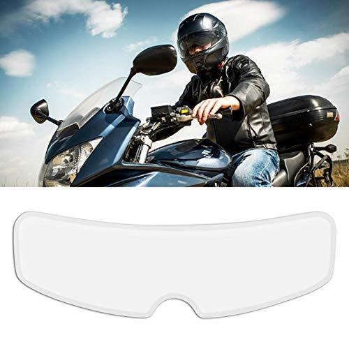 luminiu Anti-Beschlag-Folie Motorrad-Helm-Linse Motorradhelmlinse Antibeschlagfolie,Anti Fog Film Visier Shield Aufkleber für Helmvisier für Motorrad