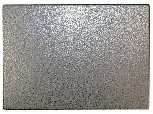 Grillstein, Pizzastein, Heißer Stein, Brotbackstein aus glasiertem Cordierit 500x300x20mm