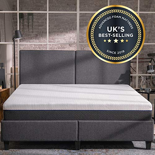 Emma Original SINGLE Mattress 25 cm high | UK's Most Sold Online Mattress | 200...