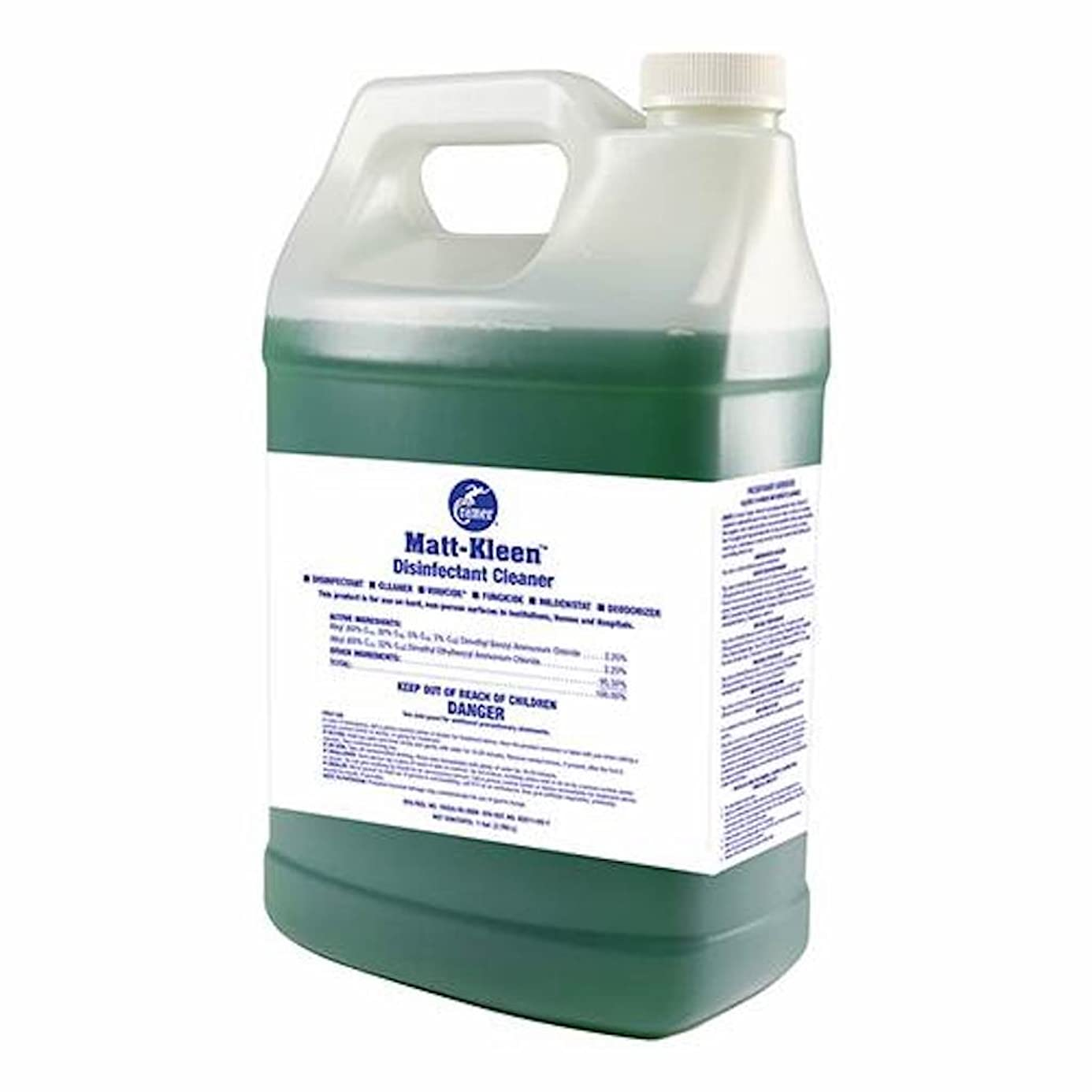 Cramer Matt-Kleen Hard-Surface Disinfectant Cleaner Concentrate for Wrestling and Gymnastic Mats, Training Tables, Shower Floors, One Gallon