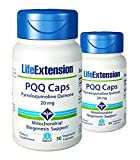 Life Extension PQQ Caps 20 Mg, 30 vegetarian caps x 2