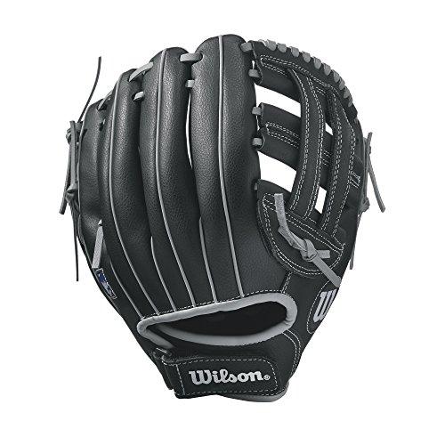 Wilson A360Guante de béisbol, 25,4 cm, Color Negro/Blanco, tamaño 10...