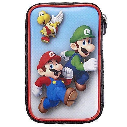 Offizielle Nintendo New 3DS und 2DS XL / 3DS XL – Tasche/Hülle | 4 Motive zur Auswahl | Schützt den Nintendo 3DS ; Motiv: Mario und Luigi